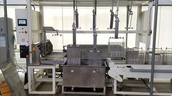 有機溶剤を使用した、洗浄工程における自動化・無人化提案!